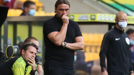 Norwich Head Coach Daniel Farke during the Premier League match at Carrow Road, NorwichPicture by Pa