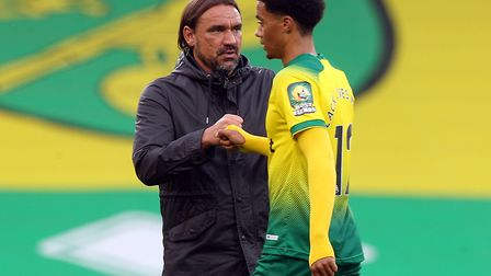 Lewis has praised Daniel Farke for allowing him to make mistakes. Picture: Paul Chesterton/Focus Ima