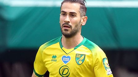 Mario Vrancic expects to remain with Norwich City following relegation to the Championship Picture: