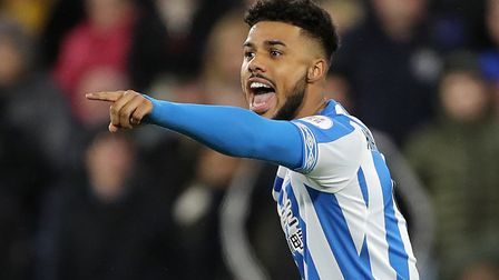 Elias Kachunga is available on a free transfer this summer after leaving Huddersfield Town. Picture: