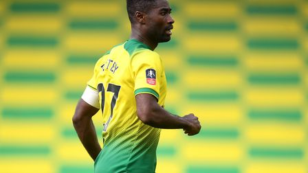 Alex Tettey surpassed 100 Premier League appearances for Norwich last season Picture: Joe Giddens/PA