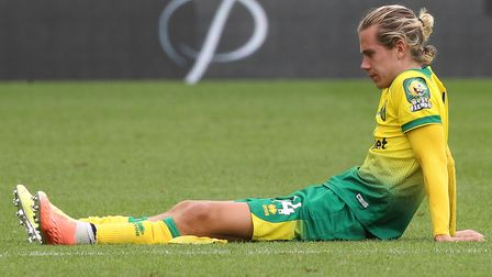 Todd Cantwell has taken to social media to defend his act of public dejection after Norwich City's l