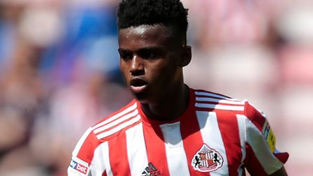 Bali Mumba in League One action for Sunderland Picture: Graham Stuart/PA Wire
