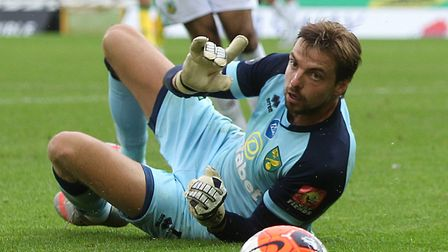 Tim Krul couldn't keep Burnley out as Norwich City lost a ninth successive Premier League game Pictu