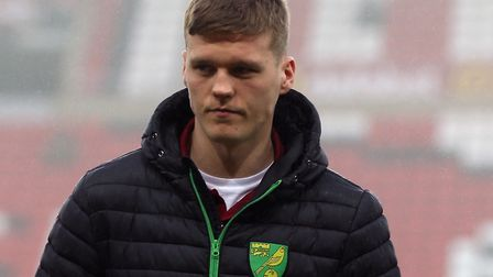 Sean Raggett was an unused substitute during eight games for Norwich during the second half of the 2