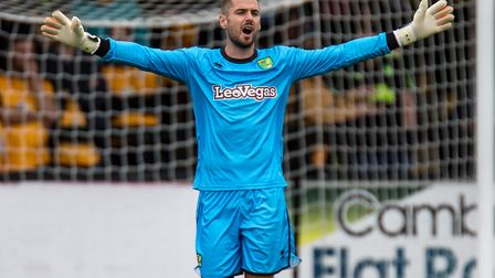 Ex-Norwich City goalkeeper Remi Matthews is training with Ipswich Town. Picture: Liam McAvoy/Focus I