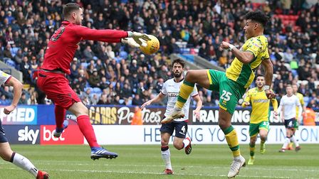 Remi Matthews impressed for Bolton Wanderers despite their double relegation. Picture: Paul Chestert
