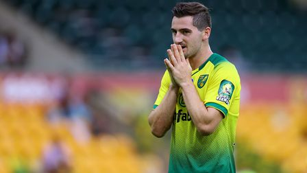 Norwich City's Kenny McLean feels the pain Picture: PA