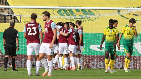 City's implosion was complete when Chris Wood gave Burnley the lead. Picture: Paul Chesterton/Focus