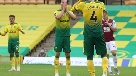 Norwich City slipped to a ninth straight league defeat against Burnley Picture: Paul Chesterton/Focu