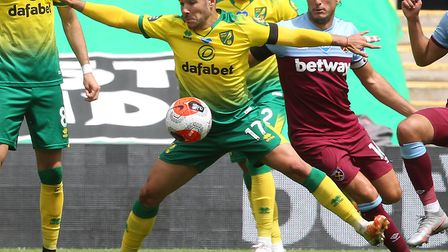Emi Buendia has assessed his development in the Premier League as Norwich City's disappointing seaso
