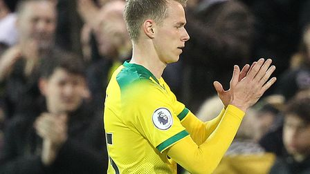Ondrej Duda received a warm reception from the Carrow Road crowd as he was substituted during his de