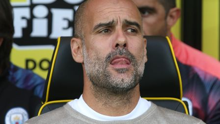 Manchester City Manager Pep Guardiola has set his side a target ahead of weekend's fixture against N