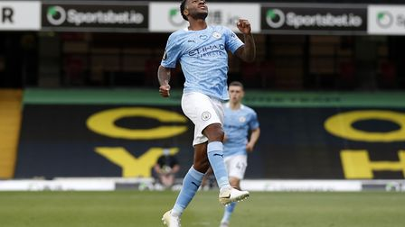 Raheem Sterling will be looking to add to his tally against the Canaries Picture: PA