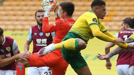 Ben Godfrey is one of Norwich City's youngsters already touted with a summer exit Picture: Paul Ches