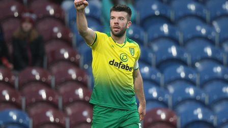 Grant Hanley scored once during 18 games for City, during an FA Cup win at Burnley Picture: Paul Che