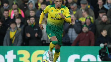 Ben Godfrey - a Premier League regular and an example of Norwich's investment in youth Picture: Paul