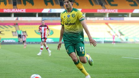 Timm Klose started his first league game in 18 months as the Canaries resumed their season and lost