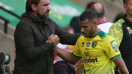 Norwich City boss Daniel Farke feels Onel Hernandez can be a big player back in the Championship Pic