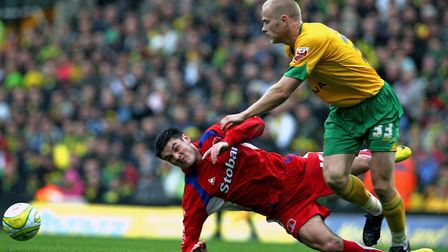 Jens Berthel Askou in action during his time as a Norwich City player Picture: Chris Radburn/PA Imag