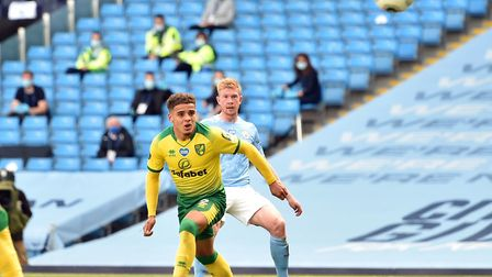 Manchester City's Kevin De Bruyne was too hot to handle in Norwich City's 5-0 Premier League defeat
