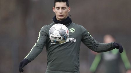 Sebastian Soto is set to join Norwich City this window. Picture: Joachim Sielsk/PA Images