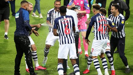 West Brom's promotion was confirmed with a 2-2 draw against QPR on Wednesday. Picture: Nick Potts/PA