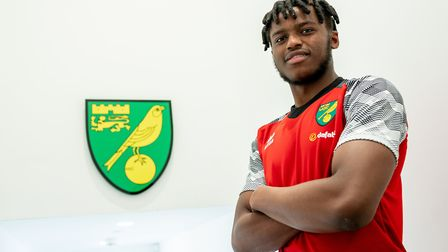 The 18-year-old has penned a four-year deal with the club. Picture: Norwich City FC