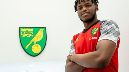 Bali Mumba is Norwich City's latest signing. Picture: Norwich City FC