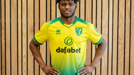 Mumba joins the Canaries from Sunderland. Picture: Norwich City FC