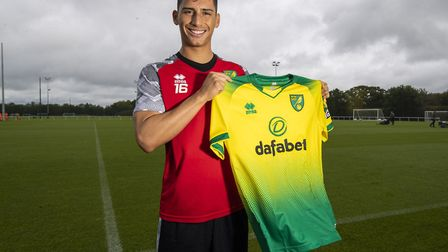 Norwich City have confirmed the arrival of young striker Sebastian Soto Picture: Jason Dawson/NCFC