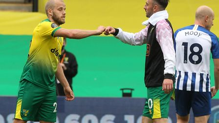 The Swiss international has been an understudy to Teemu Pukki for the majority of this season. Pictu