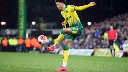 Jamal Lewis has benefited from Norwich's faith in young talent Picture: Paul Chesterton/Focus Images