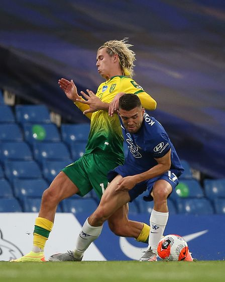 Todd Cantwell exceeded expectations during Norwich City's Premier League campaign Picture: Paul Ches