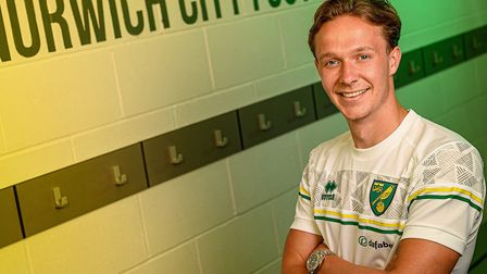 Kieran Dowell has joined Norwich City on a permanent deal from Everton Picture: Norwich City FC