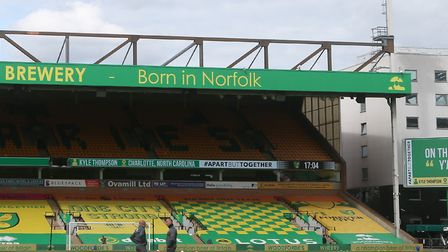 Norwich City supporters were not able to attend games during the Premier League resumption after a t