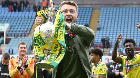 Tom Trybull was an important part of City's title-winning squad in the Championship Picture: Paul Ch