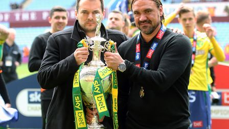 Can Stuart Webber and Daniel Farke mastermind further Championship success at Norwich City? Picture: