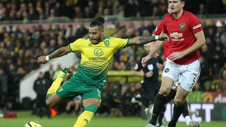 Canaries winger Onel Hernandez scored a late consolation during a 3-1 home defeat to Manchester Unit