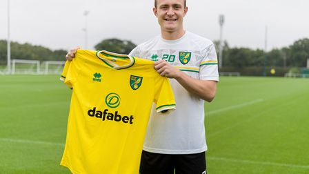 Norwich City have signed midfielder Oliver Skipp from Tottenham on loan Picture: Norwich City FC
