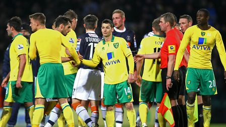 Luton pulled of an FA Cup upset at Carrow Road in January 2013, knocking out Premier League side Nor
