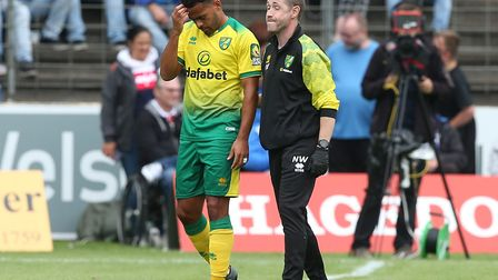 The midfielder's spell at Carrow Road has been plagued by injuries. Picture: Paul Chesterton/Focus I