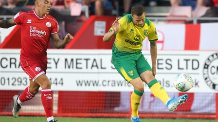 Philip Heise's only senior appearance for Norwich so far came during a League Cup defeat at Crawley