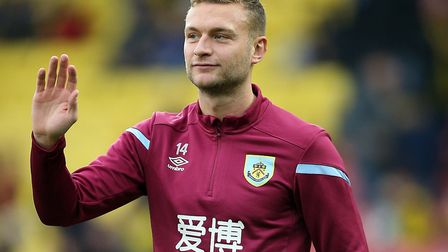 Ben Gibson is on the verge of signing for Norwich City on loan. Picture: Nigel French/PA Wire