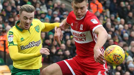 Ben Gibson is a statement signing for Norwich City head coach Daniel Farke Picture: Paul Chesterton/