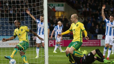 Cameron Jerome had a goal disallowed during Norwich City's last trip to Huddersfield, a 3-0 defeat i