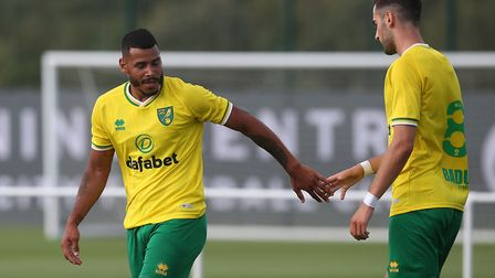 Onel Hernandez lashed in a fifth for Norwich