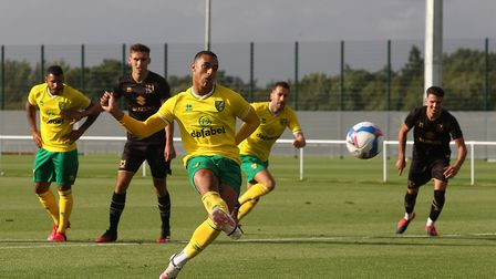 Adam Idah put a penalty wide after coming on at half-time