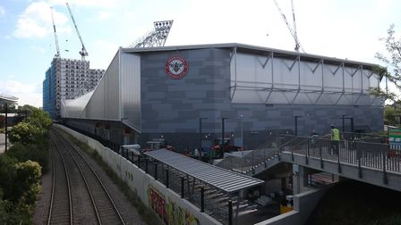 Brentford Community Stadium - the future home of Brentford Football Club Picture: PA