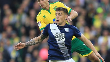 Jordan Hugill is set to link up with Norwich City at their German training base Picture: Nigel Frenc